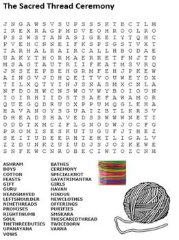 Hinduism Word Search Pack