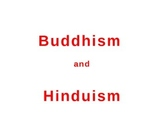 Hinduism and Buddhism Learning Activity and PowerPoint- Co
