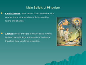 Hinduism and Buddhism Ppt Notes
