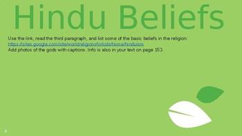 Hinduism and Jainism Webquest
