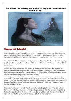 Hinemoa and Tutanekai - a Maori Love Story