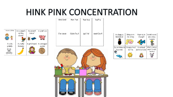 Hink Pink Concentration