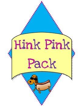 Hink Pink Pack