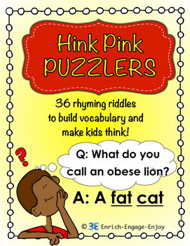 Hink Pink Puzzlers