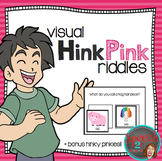 Hink Pink word riddles: vocabulary, rhyming, critical thinking, synonyms
