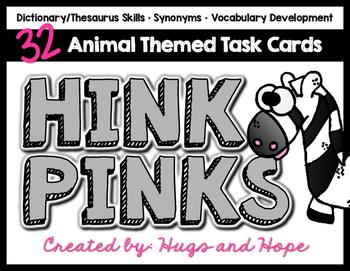 Hink Pinks - Animals