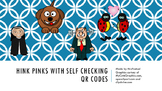 Hink Pinks with Self Checking QR Codes
