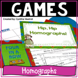 Homographs Multiple Meaning Words:  Activities, Games, and