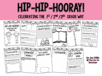Hip-Hip-Hooray! End of the Year Book