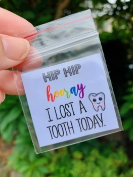 Hip Hip Hooray I Lost A Tooth Today bags