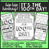 Hip Hip Hooray! It's the 100th Day! {100th Day of School Activities}