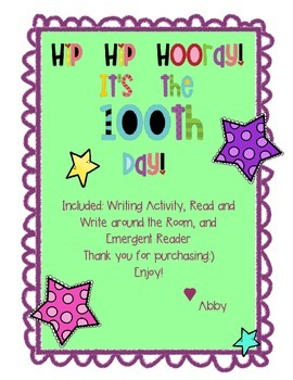 Hip Hip Hooray! It's our 100th Day!