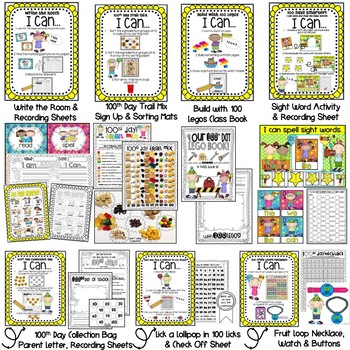 Hip! Hip! Hooray! It's the 100th Day! CELEBRATE the 100th Day of School!