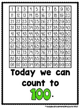 Hip Hip Hooray!  Look What We Can Do On The 100th Day!!!  (Reader and Lap Book)