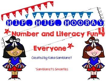Hip, Hip, Hooray! Number and Literacy fun!