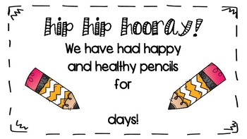 Hip Hip Hooray! Pencil Challenge