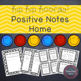 Hip Hip Hooray! Positive Notes Home