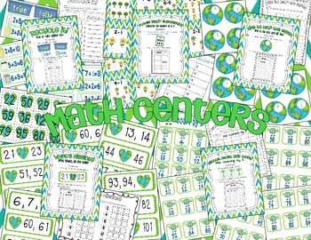 Hip Hip Hooray it's Earth Day! (Common Core Aligned Math Activities)