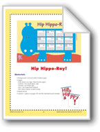 Hip Hippo-Ray! (Bulletin Board)