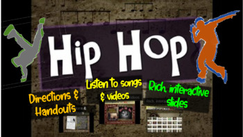 Hip Hop: A comprehensive & engaging Music History PPT (lin