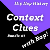 History of Hip Hop Context Clues Worksheets and Reading Pa