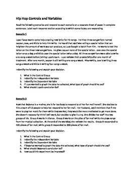 Hip Hop Controls and Variables 1
