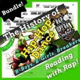 History of Hip-Hop Dance Reading Passage Activities Using