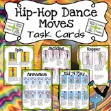 Hip Hop Dance Moves: Task Cards
