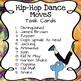 Hip Hop Dance Moves: Task Cards