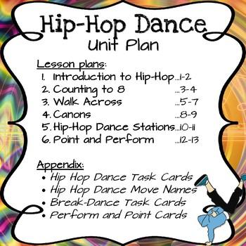 Hip-Hop Dance Unit Bundle