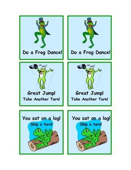 Hip Hop Frog!  A CVC Game