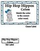 Hip Hop Hippos Basic Skill File Folder Games