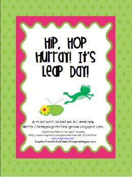 Hip, Hop Hurray! It's Leap Day! {a Mini-Unit to celebrate