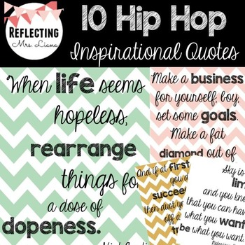 Hip Hop Inspirational Posters