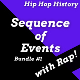 Hip Hop Sequence of Events Worksheets with Nonfiction Read