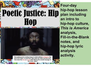 Hip Hop as Literature and This is America Analysis