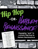 Hip Hop or Harlem Renaissance: Fun Quiz to Connect Hip Hop