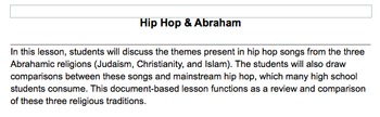 Hip Hop & the Abrahamic Religions