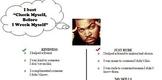 Hip Hop themed behavior self-assessment