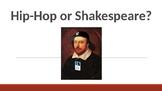 Hip-Hop vs. Shakespeare figurative language game