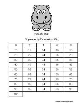 Hip to Skip - Counting Bundle