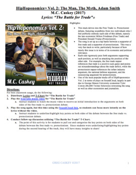 "HipHoponomics: ""The Battle for Trade"" (Lyrics Only)"