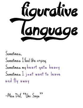 Hiphop Literary Device Poster: Figurative Language