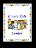 Hippie Kids Center Sign
