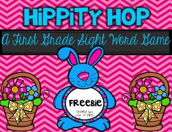Hippity Hop- A First Grade Sight Word Game