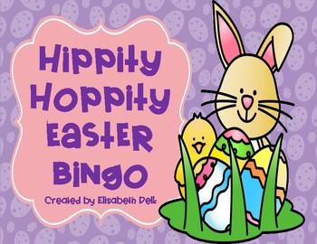 Hippity Hoppity Easter BINGO