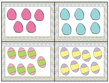 Hippity, Hoppity, Easter's On It's Way (Math and Literacy Activities)