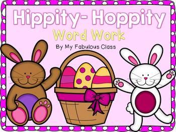 Hippity-Hoppity Kindergarten Word Work