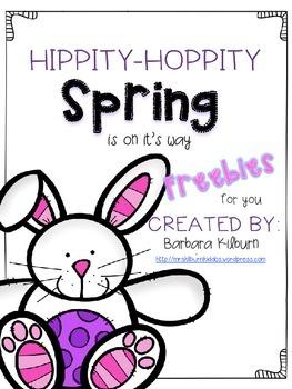 Hippity Hoppity Spring FREE pack