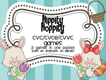 Hippity Hoppity . . . .a game with blends.